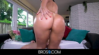 Latina Hottie With Big Tits Gets Bent Over And Pounded