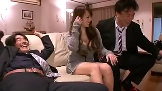 Drunk japanese wife cheats 7n4f pt1 more at mantraporn.com