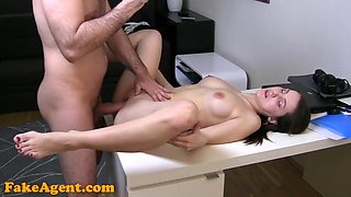 FakeAgent HD: First time creampie for student
