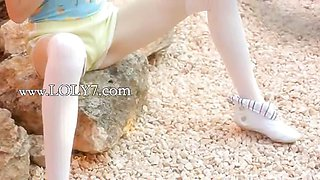 Petite angular doll stripping