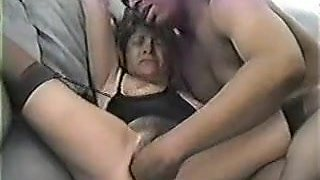 Doxy Wife Fisting and Creampie with BBC in Interracial Clip