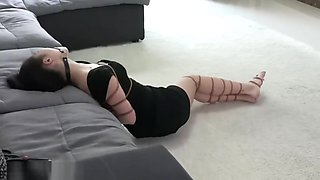Chinese Pretty Bondage with Ballgag
