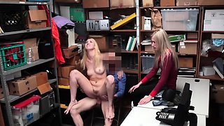 Caught jerking by real maid A mother and boss's daughter who