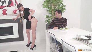 Sexy Maid Anal