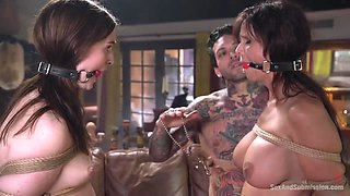 Syren De Mer, Maya Kendrick Rough Porn Video