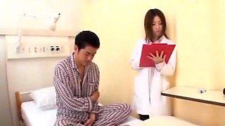 Crazy Japanese slut Yuri Sato 2, Hotaru Yukino, Rune Tsukishiro in Horny Stockings, Nurse JAV scene