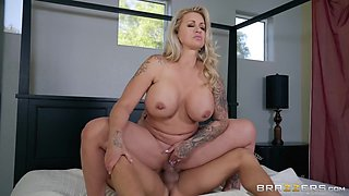 Ryan Conner & Xander Corvus in Sneaky Mom 3 - BRAZZERS