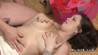 Natural huge tits Milf banging till jizz