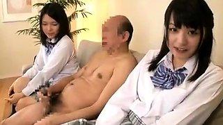 Cfnm nurses give cfnm group handjob