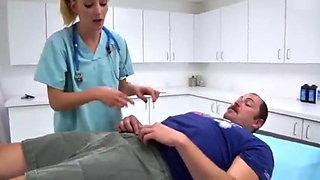2 nurses and a guy