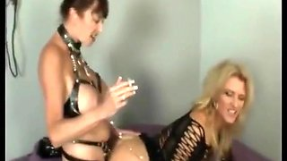 4 Ciara Blue Clips: Lesbian Smoking, Dominating and Dominated