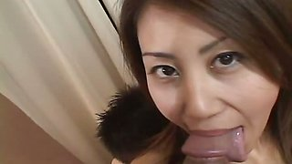 Shaved cougar has her shaved pussy licked and then filled
