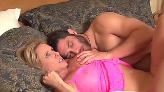 Stepmother sex with sleeping son