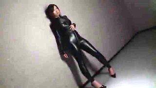 Incredible Japanese model Yui Kasuga in Amazing Fetish, Latex JAV clip