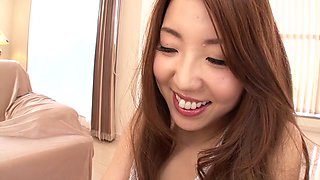 Rina Uchimura in Triple Holes Nakadashi Fuck part 1