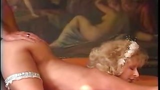 Bride Finally Gets A Good Fucked In The Bed & Facialized