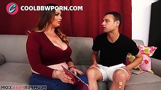 Student fucking his big tits teacher