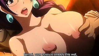 Incredible adventure, drama anime clip with uncensored big