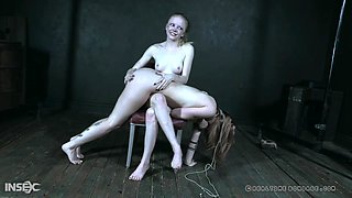Tied up sluts Alice and her friend bruttaly abused by a stranger