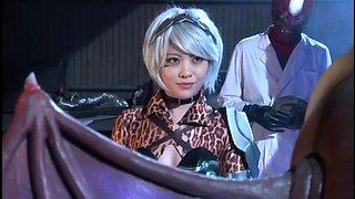 Pretty Asian girls in uniform explore their wild fantasies