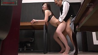(Eng Sub) She become slave for boss more on Asianlust.ml