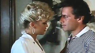 Amber Lynn, John Leslie in amazing retro sex video with