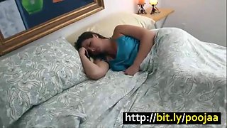 Young son fucks sleeping mother taboo family brunette milf insect