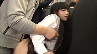Schoolgirls Crowded Train Fantasy