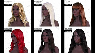 Ebony Sex Doll Jiggle Video - YL Dolls 164cm C Cup with Grac