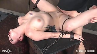 Bound Rough Fuck For This Bitch Slut With Amber Ivy