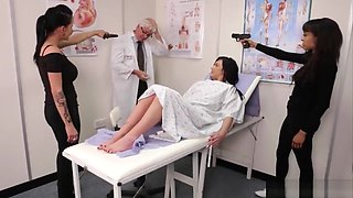 Babes Strip Old Doctor