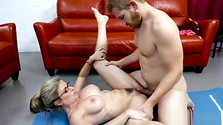 Cory Chase in Yoga Mom Fucks her Son