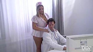 DDF Network Crystal Swift Titty Fuck In Doctors Office