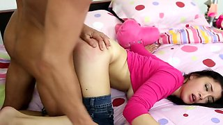 The young mother is one very horny and perverted pice of a woman