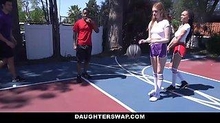 Julie Kay & Maya Kendrick in Hoop Creams - DaughterSwap