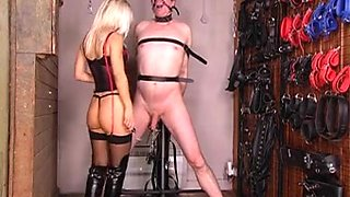 Posh Sadistic mistress just wants to hurt this slave