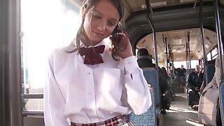 Russe baise dans le bus