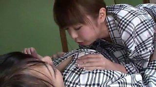 Amazing Japanese slut Sae Aihara in Horny Lesbian/Rezubian, Cunnilingus JAV movie