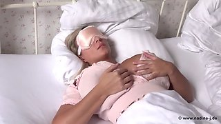 Sleeping Girl using Mask :)