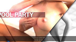 Affect3d Futanari pool party 3d animation