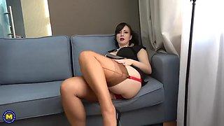 Fetish for nylon stockings