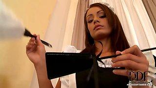Mistress Disciplines Her Maid