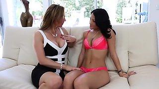 Amazing pornstars Tanya Tate, Kelly Diamond and Ava Addams in crazy milfs, hd porn video