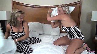 Wrestling with Amber Lynn Bach
