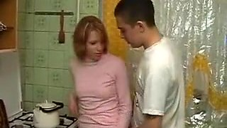Exotic amateur Kitchen, Anal adult clip