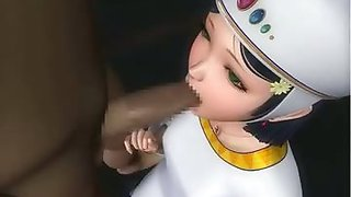 Uniform girl sex in 3D hentai