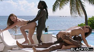 BLACKED Two best friends get Blacked together for the first time