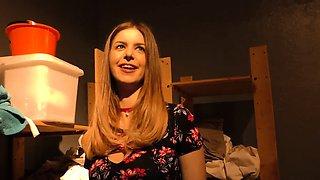 Stella Cox and Jade Jantzen Try BBC Anal - Gloryhole