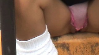 Girl Pubic Hair In The Outdoors