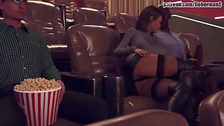 Movie theatre WIFE CHEATING